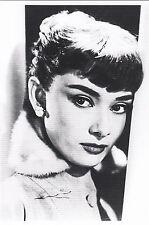 Tarjeta de arte/Postcard: Audrey Hepburn