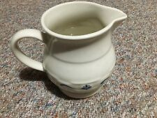 Longaberger collectible pitcher with blue accents/signed 1991