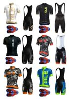 Men Team cycling jersey Bib short set shorts Set OR Mens Cycling Jersey only