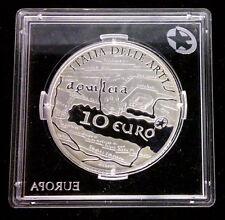 ITALIE - 10 EURO EN ARGENT 2010 - PROOF - AQUILEIA - RARE!!!!