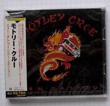 MOTLEY CRUE - New Tattoo Tour Edition JAPAN 2CD OBI NEU! UICY-6495/6 SEALED
