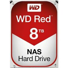 "Western Digital WD Red 8tb SATA (WD 80 efzx) 3.5"" 7200rpm, 6gb/s SATA disco rigido"