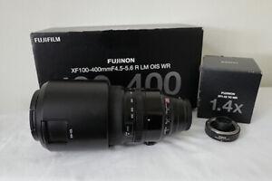 Fujifilm Fujinon XF 100-400mm F/4.5-5.6 R LM OIS WR Lens + 1.4 X TC WR Extender