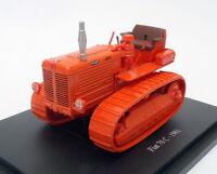 Hachette 1/43 Scale Model Tractor HT007 - 1961 Fiat 70C - Orange