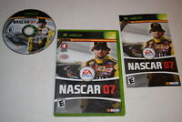NASCAR 07 Microsoft Xbox Video Game Complete