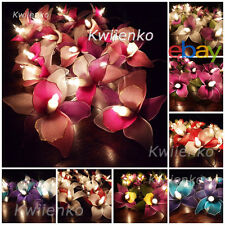 LED Batterie or Stecker Orchidee Blumen Lichterkette Party,Patio,Deko,Hochzeit,