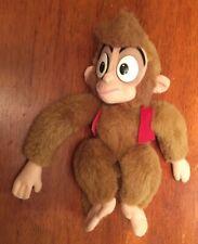 "Vintage Disney Mattel Aladdin Movie Monkey Apu Soft 10"" Doll Plush Stuffed Toy"