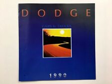 2000 Dodge Canada Car Sales Brochure Catalog - Dakota Ram Omni Shadow Van Colt
