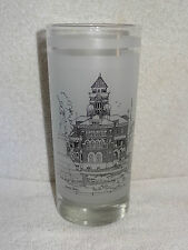 150th Ann. Of Texas Commemorative Glass- Gonzales County Courthouse