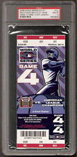2006 PSA 10 WORLD SERIES FULL TICKET GAME 5 (CLINCHER) CARDINALS TIGERS PUJOLS
