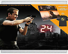 24 - Seasons 1-5 (DVD, 2008, 34-Disc Set, Collector's Edition Sensormatic; Wides