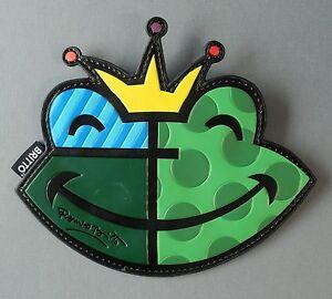 ROMERO BRITTO Portemonnaie / Geldbeutel mini frog / Frosch ca. 16x13 cm B332202