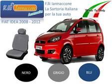 """COPRISEDILE FODERE SU MISURA AUTO  FIAT IDEA COLORE """"NERO"""
