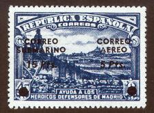 1938. D. DE MADRID - SOBRECARGA SUBMARINO ** SIN FIJASELLO. SPAIN SPANIEN ESPANA