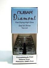Nubar T309 Diamont Seal & Shine Top Coat Nail Lacquer .5 oz