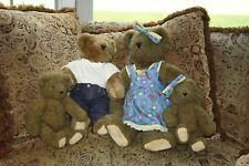 New Listingvintage Vermont Teddy Bears Co. Company mother babies boy jeans Set Lot 1995