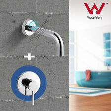 Chrome lollipop Basin vanity wall water spout shower mixer tap set brass Faucet