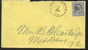 1891  Middleburg Va Cover