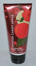 BATH BODY WORKS WINTER CANDY APPLE NOURISHING HAND CREAM LOTION TRAVEL SIZE 2 OZ