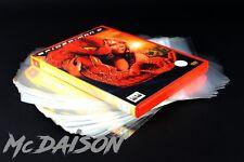 McDAISON - 300 BUSTE copertine trasparenti per custodie film DVD videogiochi