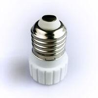 Hot Sale 2pcs E27/GU10 base Socket Adapter Converter For LED Light Lamp Bulb