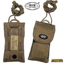 Tasca Porta Cellulare Smartphone Coltello Folding MOLLE MFH da Cintura SOFTAIR C