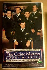 The Caine Mutiny Court-Martial Ex-rental VHS Video Tape UK Jeff Daniels PAL RARE