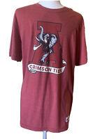 Men's Vintage Nike Alabama Crimson Tide Short Sleeve T Shirt Size Large