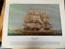 20 Lithographs Naval Actions in the American Revolution