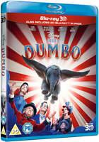 DUMBO [Blu-ray 3D + 2D] (2019) Live Action Disney UK 3D Movie Tim Burton Film