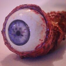 Eye Prop! Ripped Out Eyeball Prop! Blue w veins! for your DIY Zombie Costume!