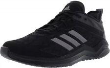 Adidas Men Speed Trainer 4 Baseball Turf Shoe Size 8.5 Black/Carbon CG5135 1281