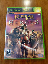 Kingdom Under Fire: Heroes (Microsoft Xbox, 2005) MINT COMPLETE! MAIL TOMORROW!