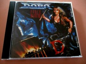 DORO - FORCE MAJEURE - CD - VERTIGO 1989 - WEST GERMAN PRESSING -