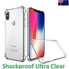 Shockproof Crystal Clear Soft Case Cover for iPhone X iPhone 8 7 6S 6 5S Plus HQ