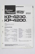 PIONEER KP-4230 KP-4200 Original Service-Manual/Anleitung/Schaltplan! o60