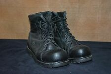 Used Canadian military combat boots size  8  (N15)
