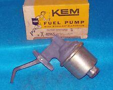 "Late 1972 Cadillac V8 wo/AC 3/8"" Outlet Fuel Pump Rebuilt KEM 40965"