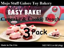 3 Pack Easy Bake Ultimate Oven Cotton Candy Cookies & Strawberry Cakes Mix FAST