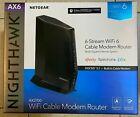 NETGEAR Nighthawk WiFi 6 Cable Modem Router AX2700 CAX30S-100NAS