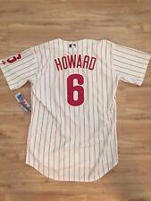 NWT Ryan Howard Philadelphia Phillies Jersey Size 44 Majestic Men's Authentic
