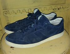 VINTAGE AUTH TODS ITALY SUEDE NAVY SKATER SNEAKERS CASUAL HIPSTER BEAT UP 43 10