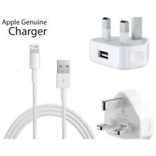 GENUINE OFFICIAL APPLE USB POWER ADAPTER AND CABLE BRAND NEW IN BOX
