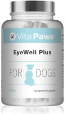 EyeWell Plus for Dogs VitaPaws™ 90 Sprinkle Capsules | Supports Eye Health