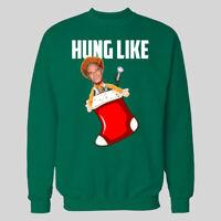 CHRISTMAS STOCKING HUNG LIKE EPSTEIN CHRISTMAS SWEATER *MANY OPTIONS*