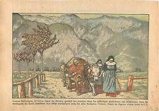 Sisters Religious Religieuse Montagne du Tyrol Autriche Austria Catholique 1933