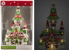 Disney USA - Santa Mickey und Minnie Castle Winter Light Up NEU