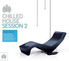 CHILLED HOUSE SESSION 2 - V/A Club Anthems & Remixes 2CDs (NEW/SEALED)