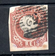 Portugal 1856-58 5R brown fine used SG#18A WS14386