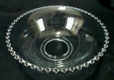 """Imperial Glass Candlewick Clear (Stem 3400) 10"""" Salad / Fruit / Serving Bowl"""